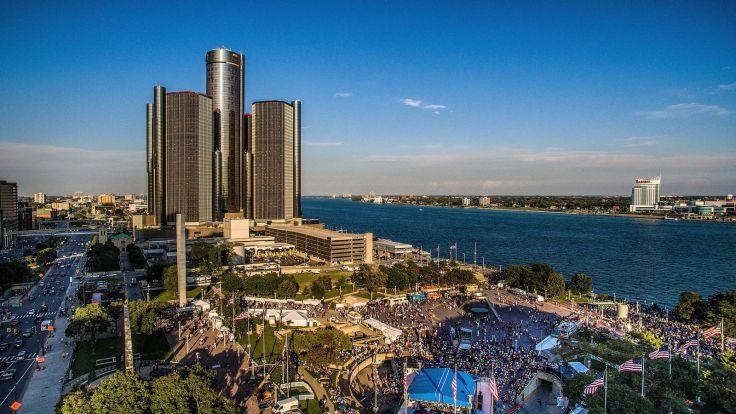 Detroit Hart Plaza